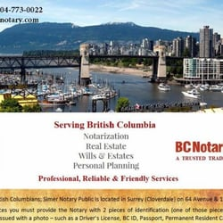 how to become notray public in bc