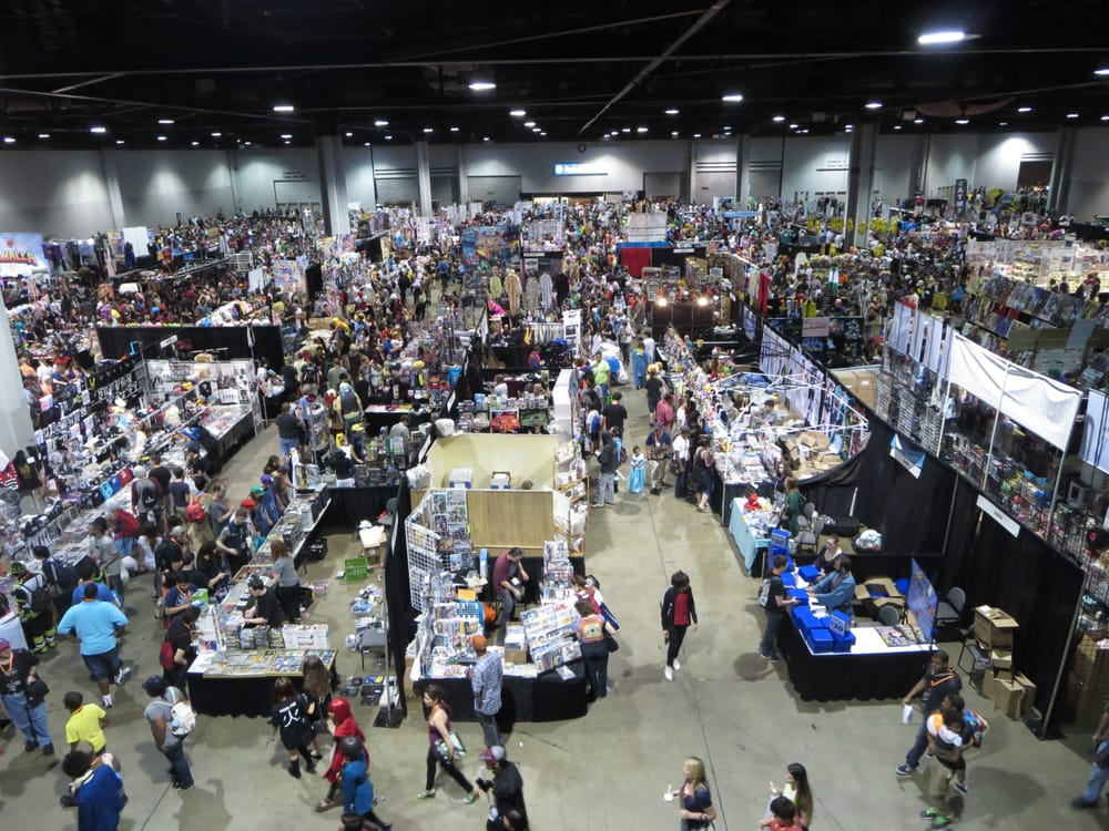 Momocon 2015 gwcc level 1 a 2 and a 3 artist alley dealers room photo of georgia world congress center atlanta ga united states momocon 2015 gumiabroncs Gallery