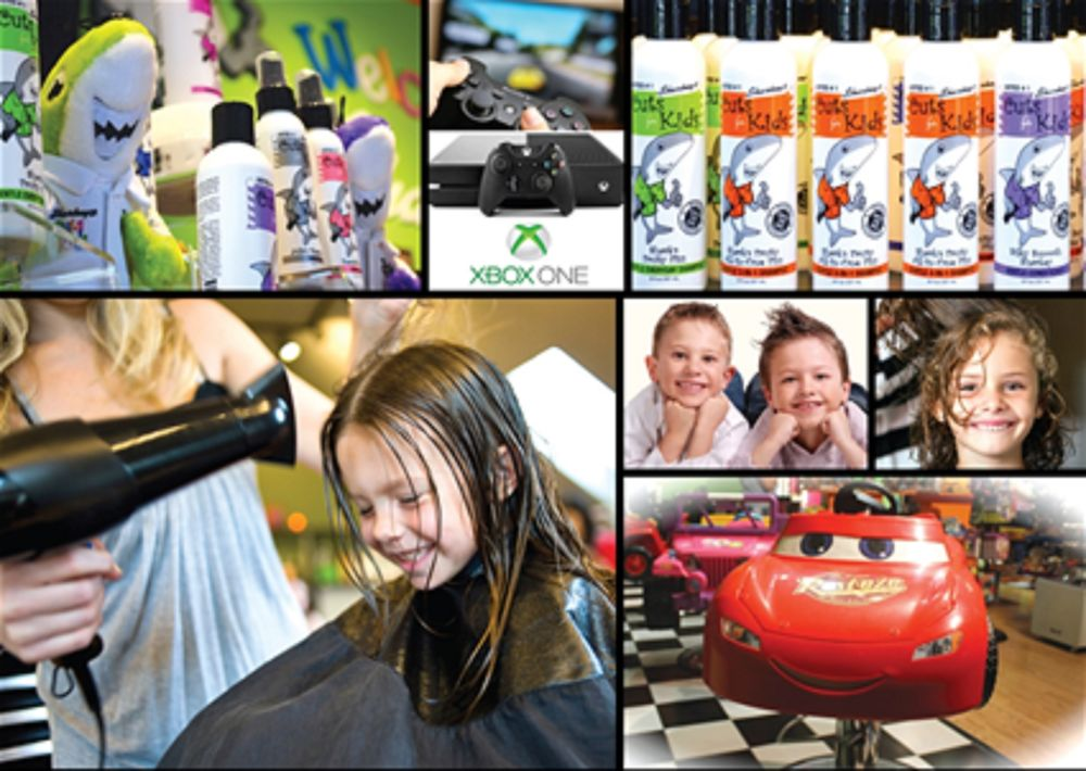 Sharkey's Cuts for Kids: 21 Orchard Park Dr, Greenville, SC