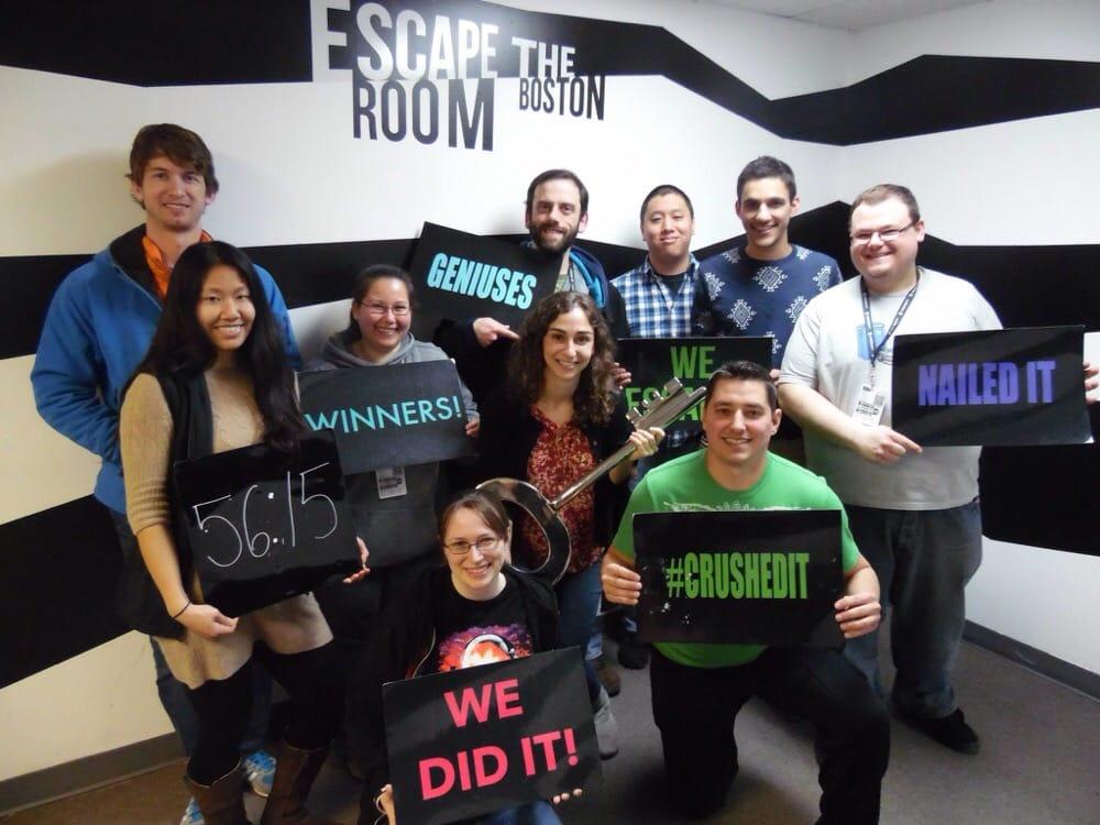 Escape The Room Boston Challenge Courses Downtown