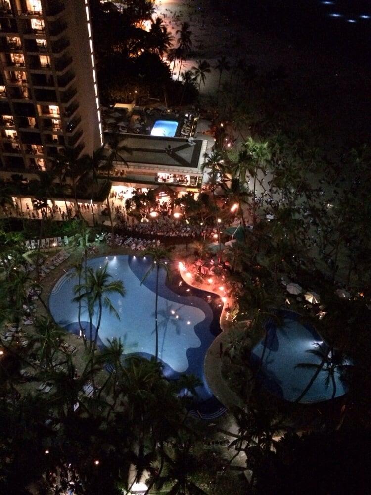 Hilton Hawaiian Village Waikiki Beach Photo Gallery: View From Rainbow Tower, 20th Floor, Ocean Front Room