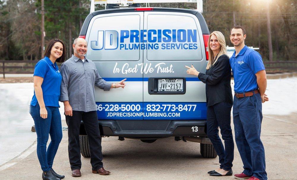 JD Precision Plumbing Services: 15487 Pin Oak Dr, Conroe, TX