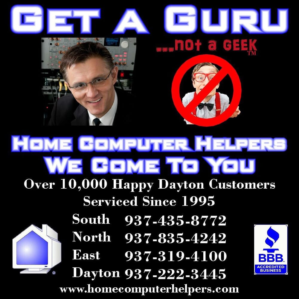 Home Computer Helpers: Dayton, OH