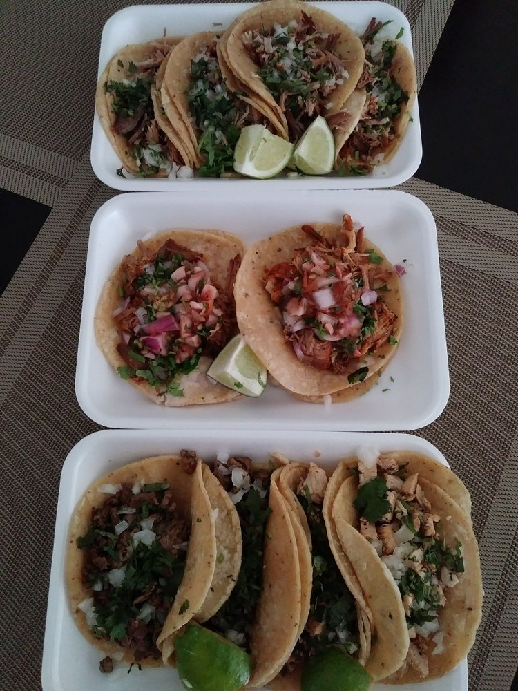 Food from The Taco Man