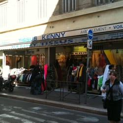 Kenny tissus knitting shops 13 rue rome noailles for Tissus ameublement marseille
