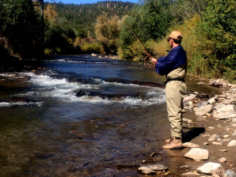 Fly Fishing School Santa Fe: 79 Camino Rincon, Pecos, NM