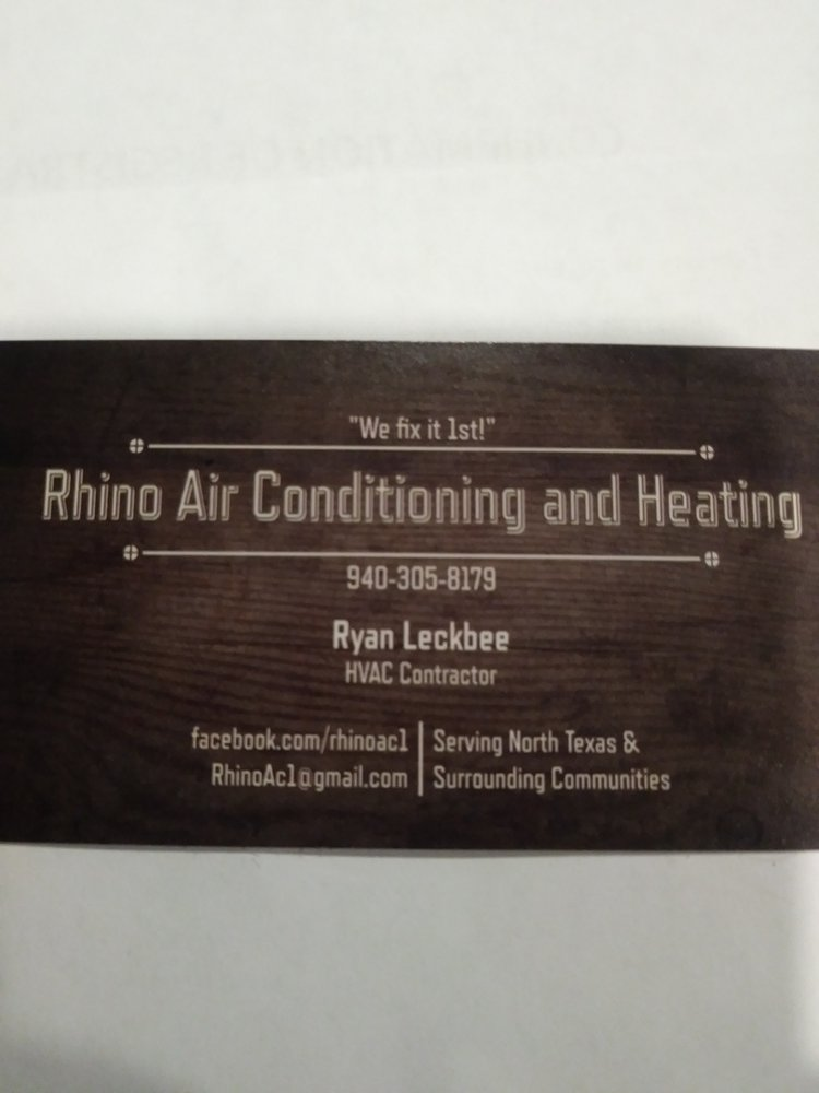 Rhino Air Conditioning and Heating: Wounded Knee Dr, Aubrey, TX