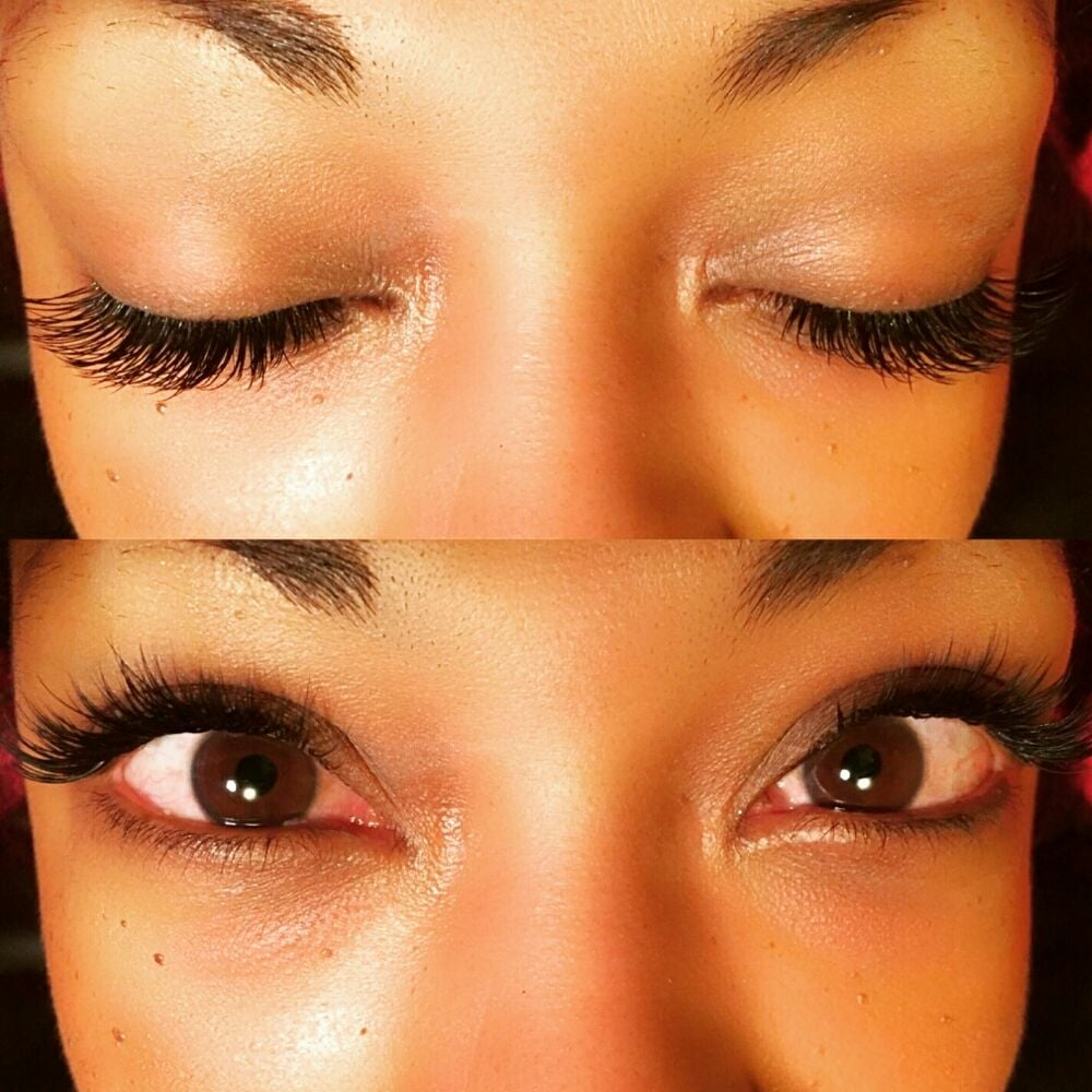 6a73775a018 Fill in Mink Eyelash Extensions. - Yelp