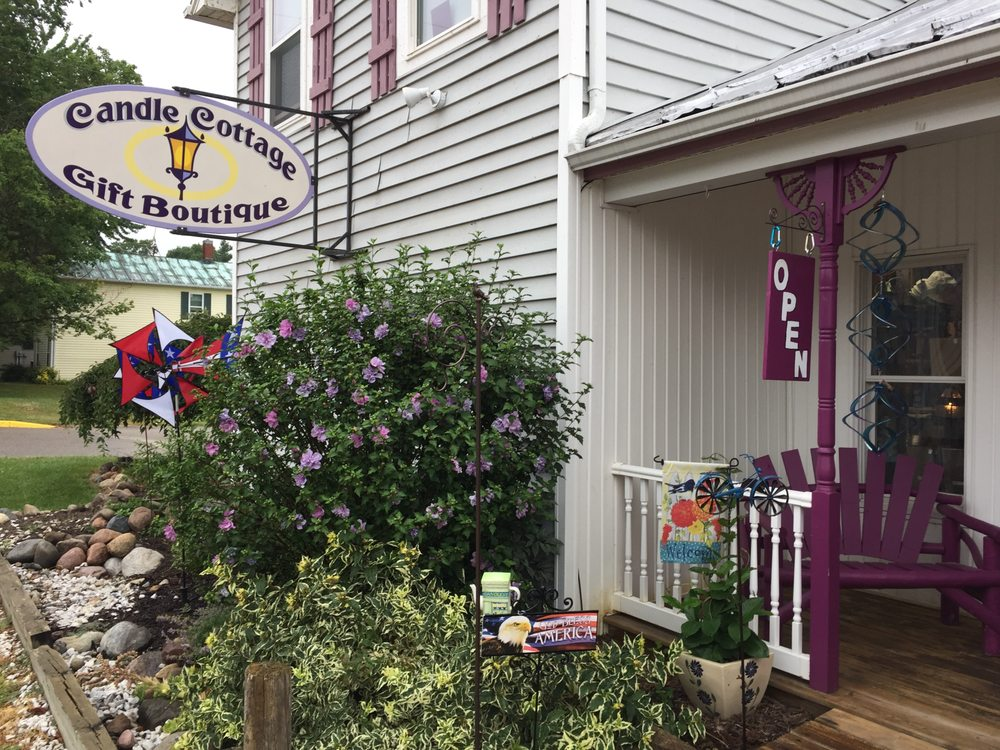 Candle Cottage: 203 S Main St, Crystal, MI