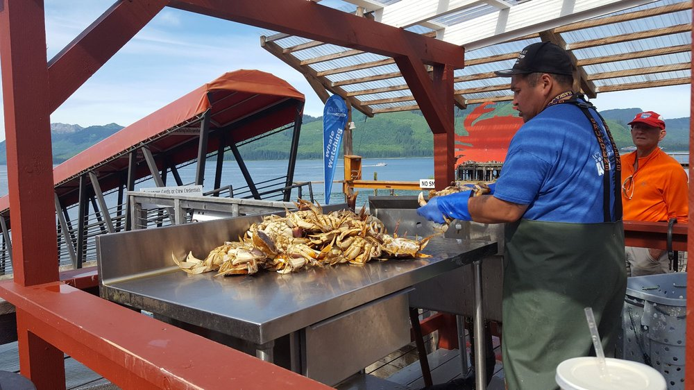 The Crab Station: 108 Cannery Rd, Hoonah, AK