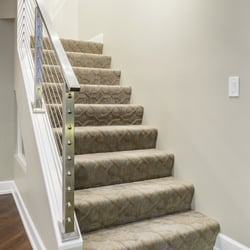 Waterfall Honed Photo Of Lewis Floor Home Northbrook Il United States Staircase Features