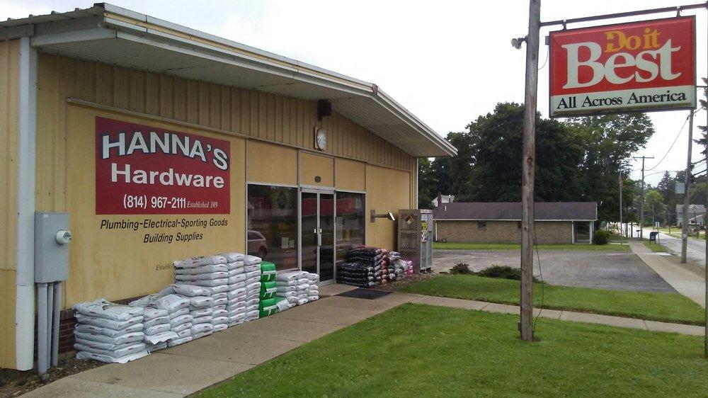 Hanna Hardware: 33416 N Main St, Townville, PA