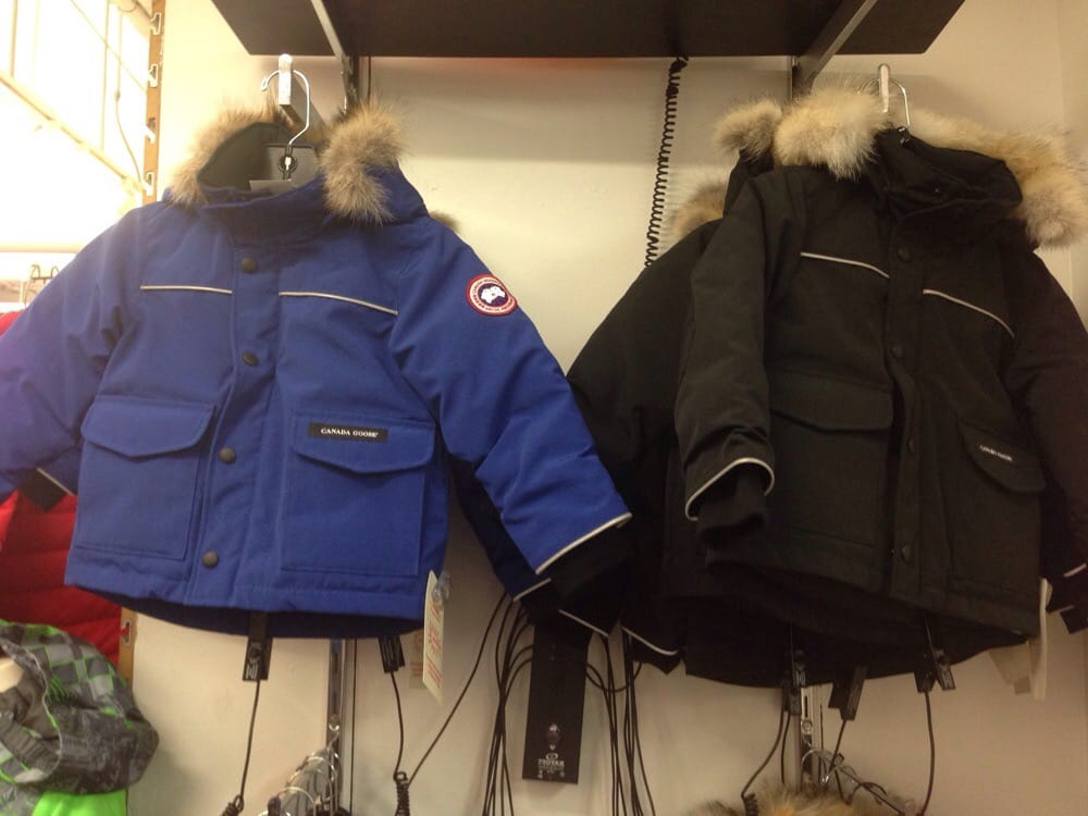 Photo of Paragon Sports - New York, NY, United States. Canada Goose for the Kids