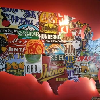 Beer Map Red Robin - Us beer map red robin