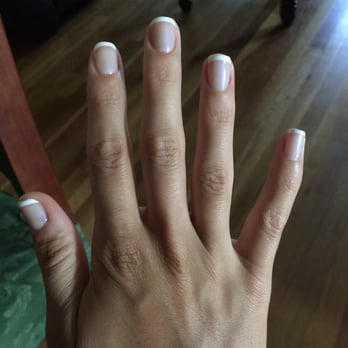Photo Of Angel Tips Clifton Nj United States French Gel Manicure 9 5