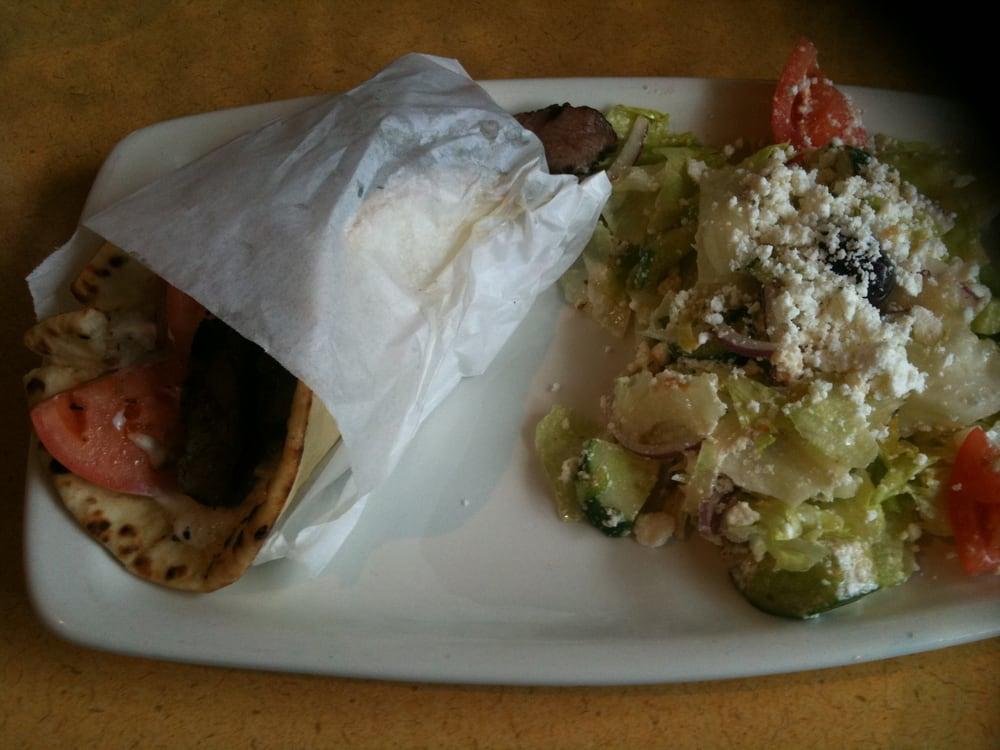 Greek Garden Cafe Guelph Menu