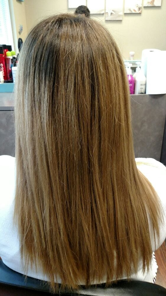 Keratin smoothing treatment yelp for Color touch salon