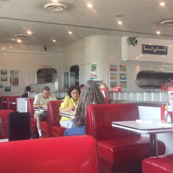 Photo Of Ruby S Diner Redondo Beach Ca United States Inside