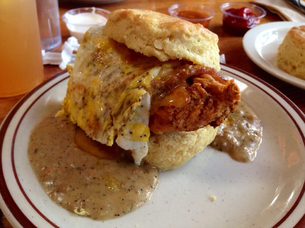 The Reggie Deluxe Biscuit Fried Egg Cheese Bacon