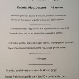 photos for le concert de cuisine | menu - yelp