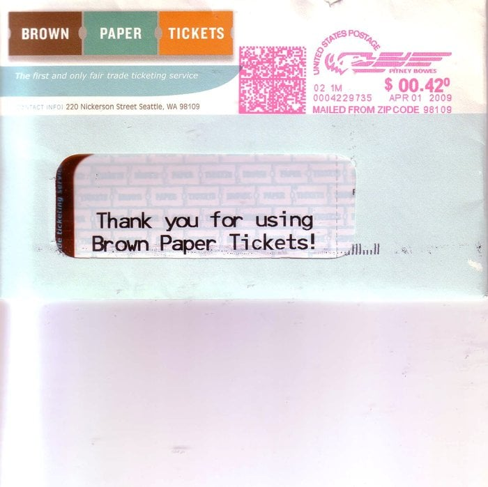 brown paper tickets Do note that purchasing a ticket through the mobile site will require a brown paper tickets account if you want a physical ticket or a print at home ticket we strongly recommend you purchase tickets via a desktop or laptop computer.