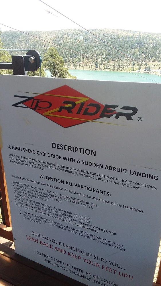 Apache Eagle Ziprider: 287 Carrizo Canyon Rd, Mescalero, NM