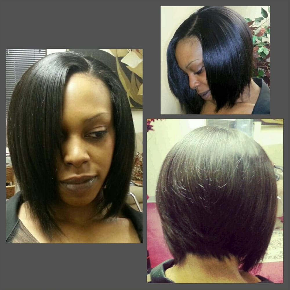Full Quickweave Bob Installed Cut And Styled 100 Protected Yelp