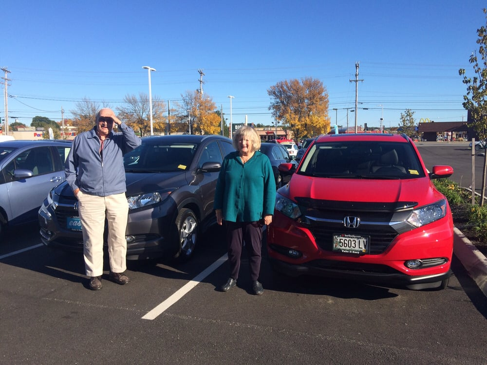 Husband and wife both with new hrvs call daniel kahn at for Berlin city honda service