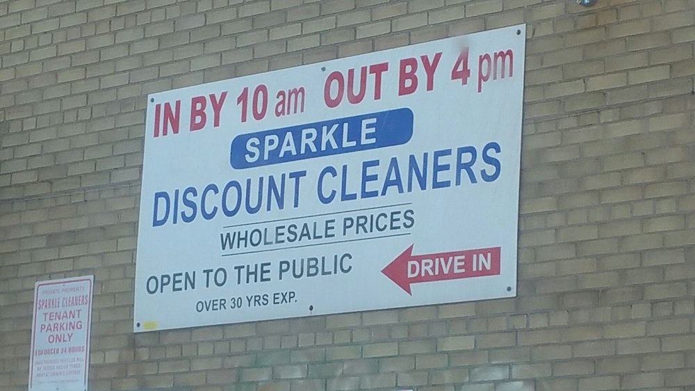 Sparkle Discount Cleaners
