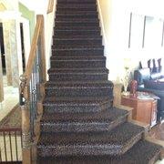 Hardwood And Tile Photo Of Carpet Villa Houston Tx United States Leopard Stairs