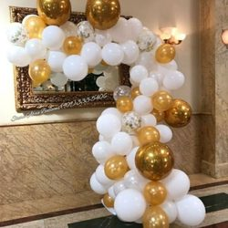 photo of stars above balloon decor corona ca united states medium size