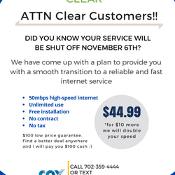 Clear - Internet Service Providers - 1045 S Rainbow Blvd