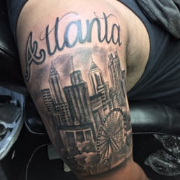 100 best atlanta tattoos themed tattoo 21 best for Atlanta falcons tattoo