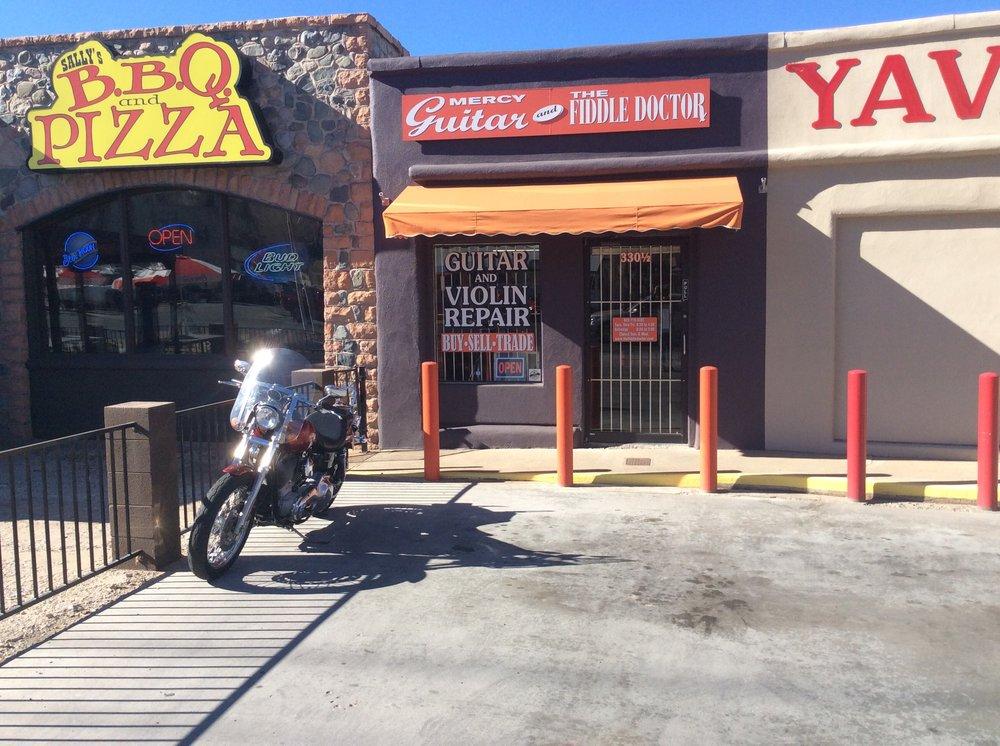 Mercy Guitar & the Fiddle Doctor: 330 1/2 S Montezuma St, Prescott, AZ