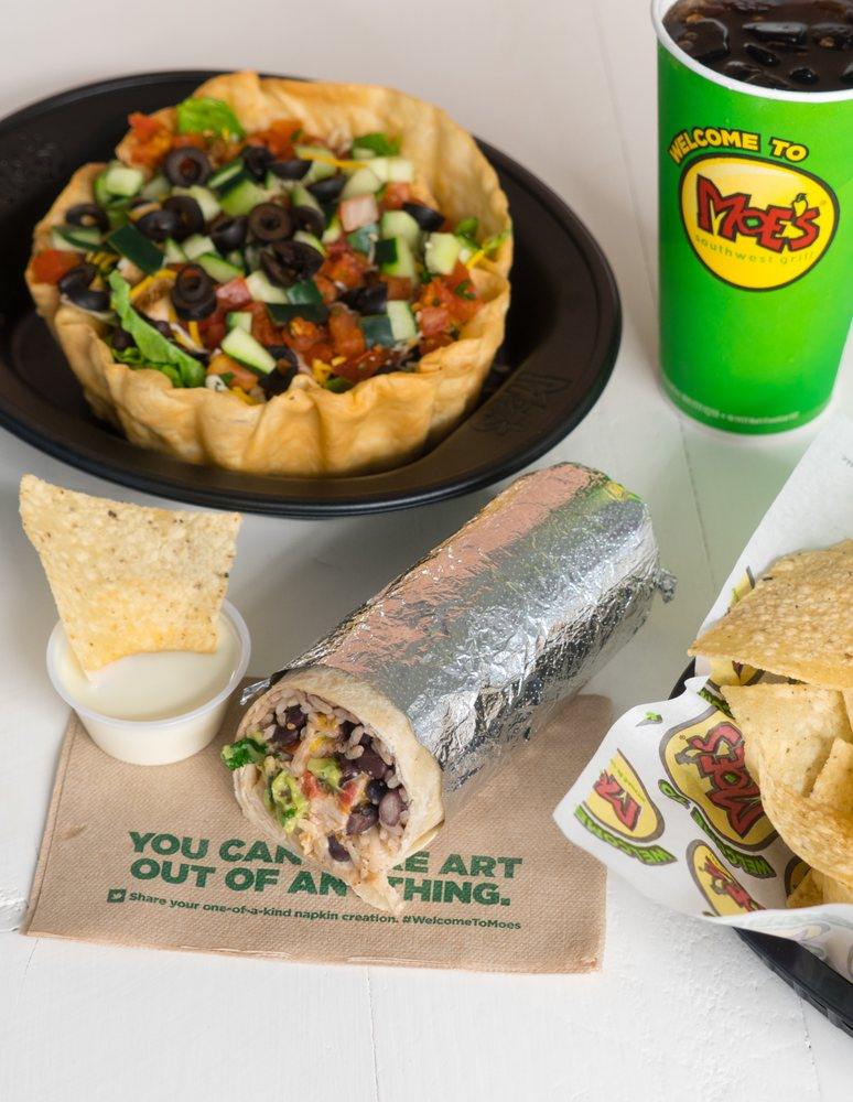 Moe's Southwest Grill: 1954 S Mississippi Ave, Atoka, OK