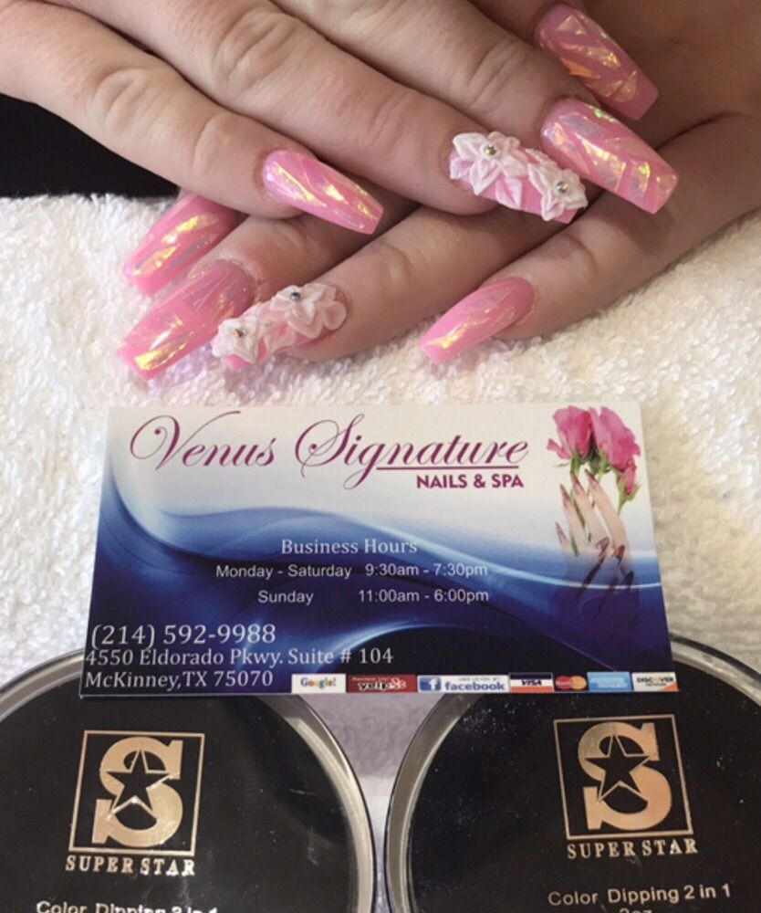 Venus Signature Nails and Spa - 264 Photos & 127 Reviews - Nail ...