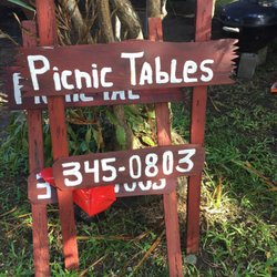 Photo Of Donu0027s Picnic Tables   Hilo, HI, United States. Donu0027s House Is