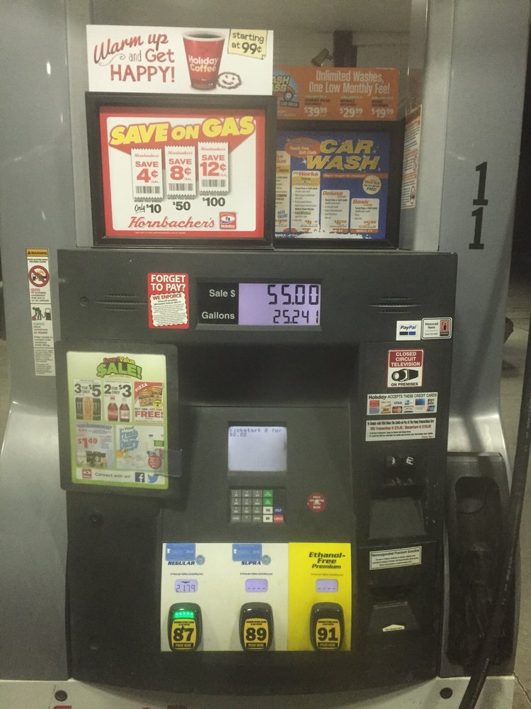 Holiday Gas Station: 2777 34th St S, Moorhead, MN