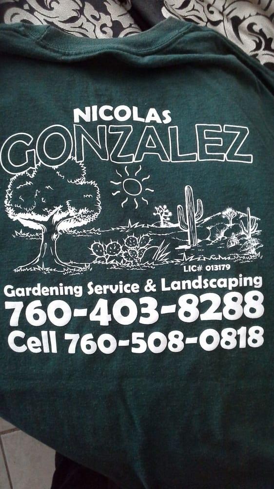 Nicolas Gonzalez Gardening Service and Landscaping: Barstow, CA