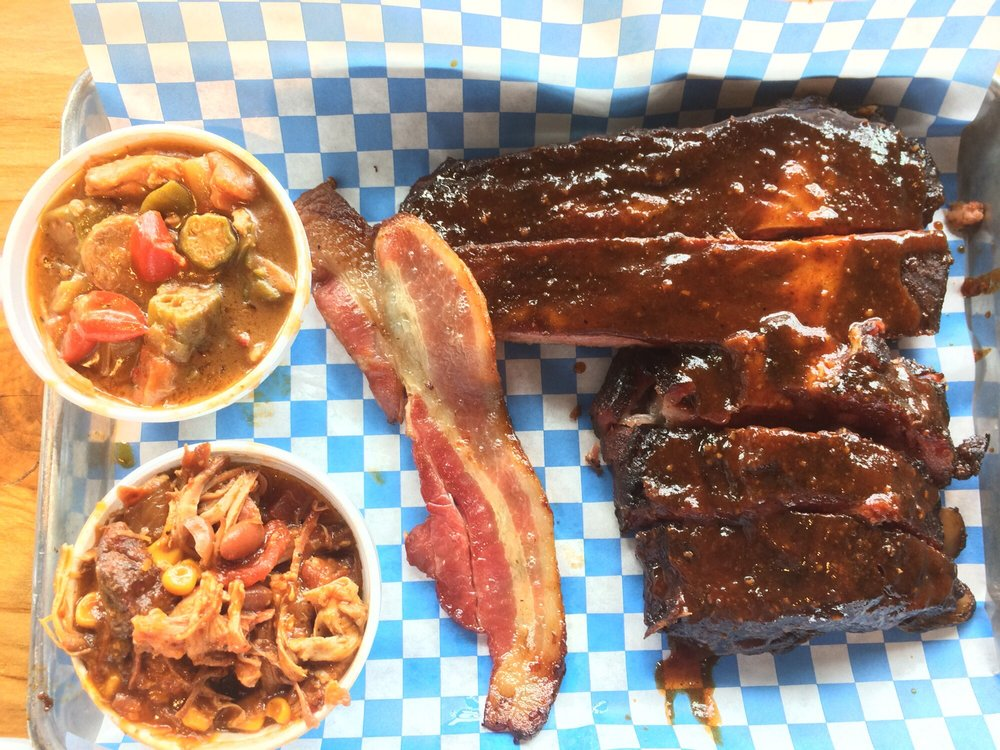 Food from Brileys BBQ & Grill