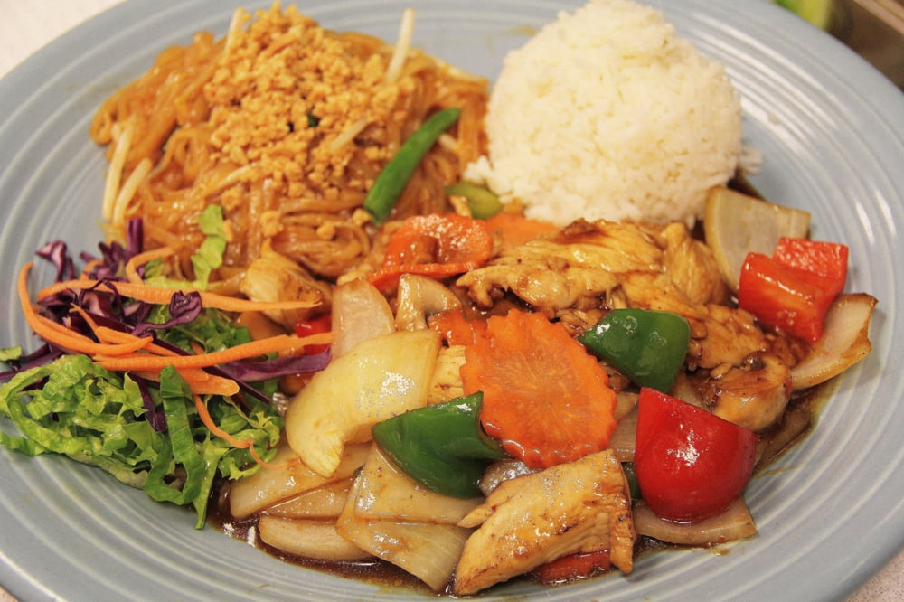 Lunch combination golden cashew yelp for Ayothaya thai cuisine puyallup wa