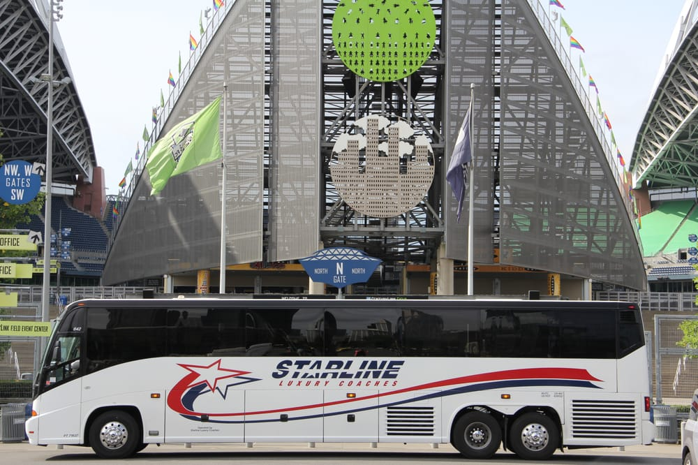 Starline Luxury Coaches: 9801 Martin Luther King Jr Way S, Seattle, WA