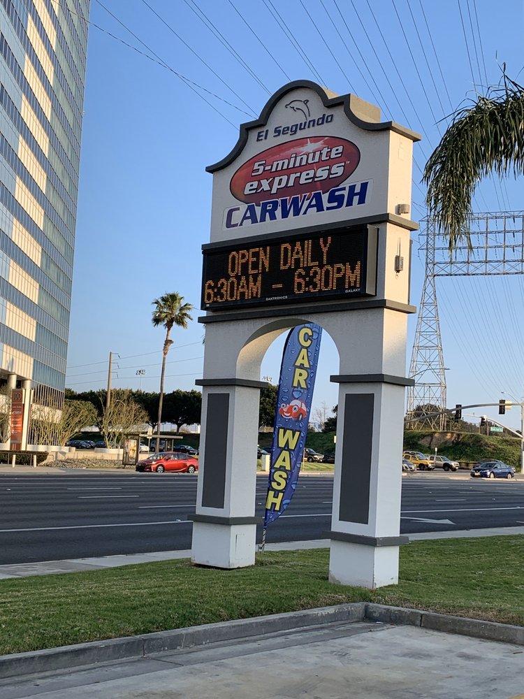 El Segundo 5 min Express Car Wash: 125 NPacific Coast Hwy, El Segundo, CA