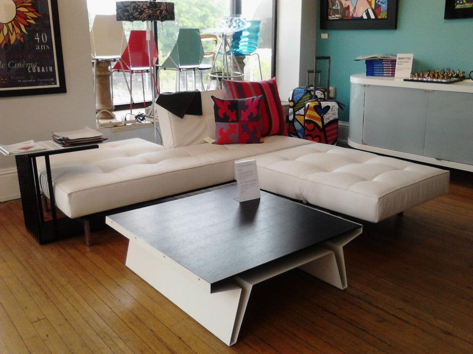 Innovation Living Split Back Sofa And Chair Blu Dot