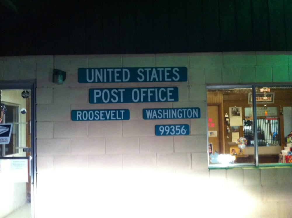 US Post Office: 222 Frontage Rd, Roosevelt, WA