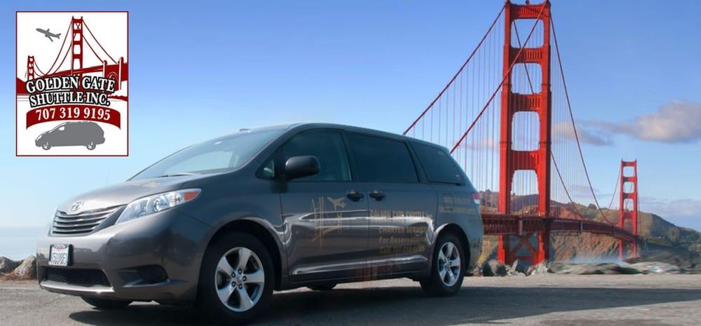 Golden Gate Shuttle: Fairfield, CA