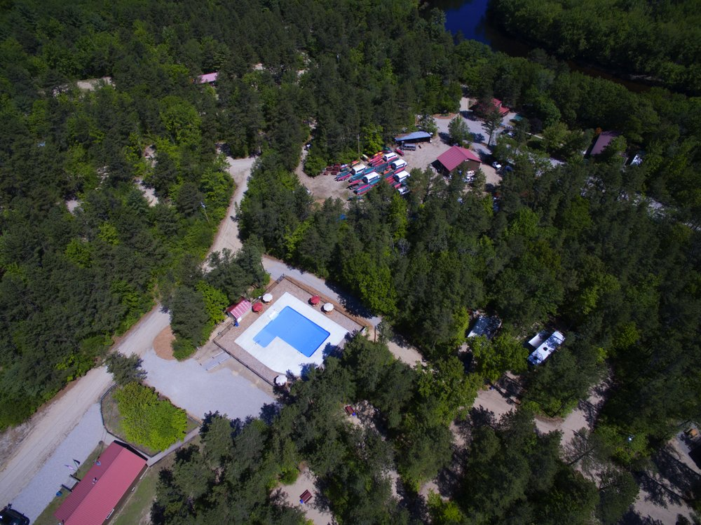 Woodland Acres Campground: 33 Woodland Acres Dr, Brownfield, ME