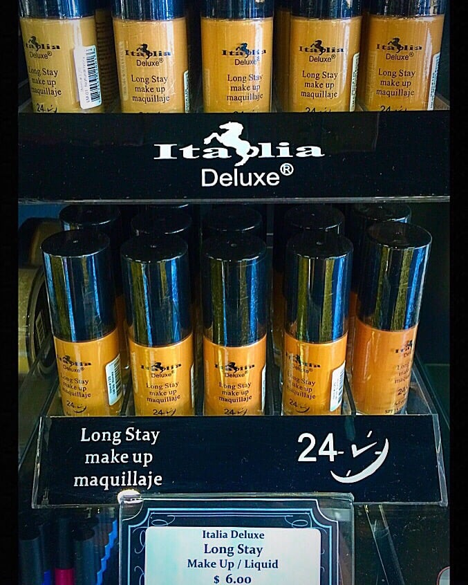 Italia Deluxe Long stay makeup foundation. long wearing foundation ...