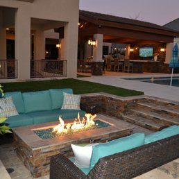 Photo Of Outside Living Concepts   Phoenix, AZ, United States. Sunken Fire  Pit