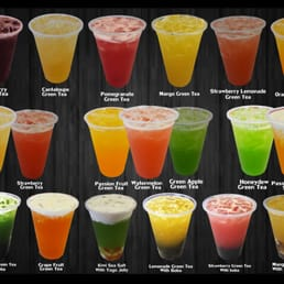 list of fruity drinks